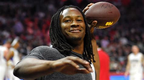 todd gurley  jerry maguire moment adds carls jr