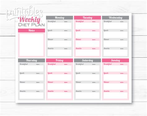 adobe style home plans weekly meal planner pdf editable meal planner for weight