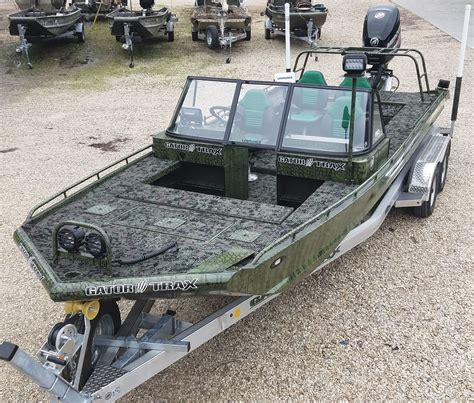 Gator Trax Boat Trailer gator trax boats purpose built boats for the