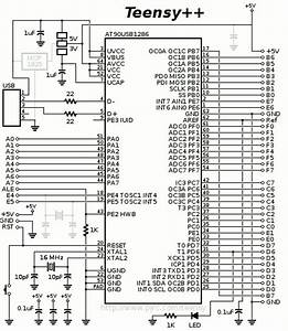 Teensy And Teensy   Schematic Diagrams