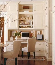 Kitchen Office Combo by Dining Room Office Combo On Built In Desk