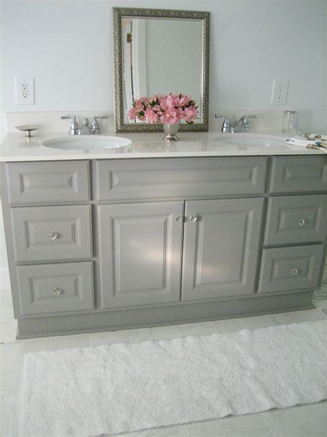 gray bathroom vanities  pinterest