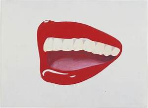 Study for Mouth, 8 Tom Wesselmann (American, 1931–2004 ...