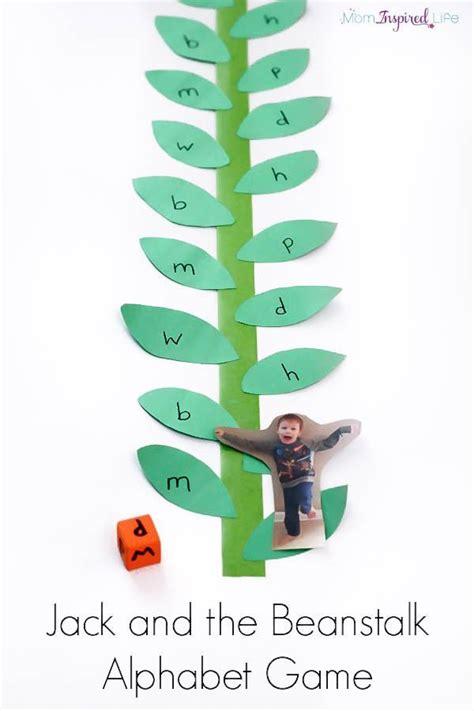jack   beanstalk alphabet game teaching preschool