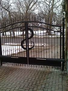 services bellferro ironworks custom wrought iron With metal letters for gates