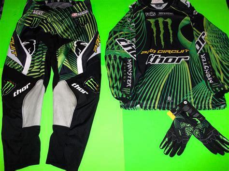 monster energy motocross gloves kawasaki monster energy team pro circuit motocross jersey