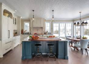 kitchen island color ideas farmhouse kitchen with blue island home bunch interior design ideas