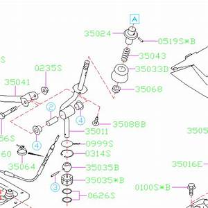 Subaru Reverse Lock Out Cable Roll Pin 2004