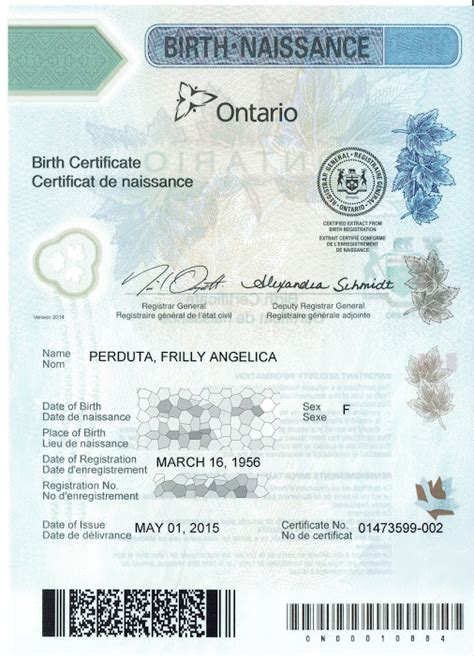 how do i get a long form birth certificate where to get ontario birth certificate in person