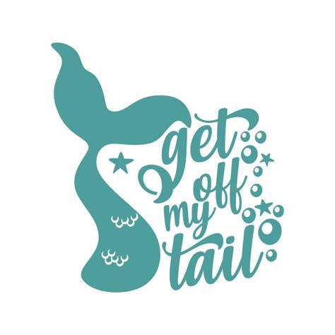 tail mermaid cuttable design