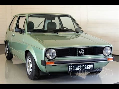 volkswagen golf s 1980 type 1 fully restored in showcondition www erclassics