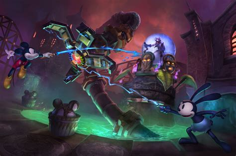 Mad Doctors Ride Epic Mickey Wiki Fandom Powered By Wikia