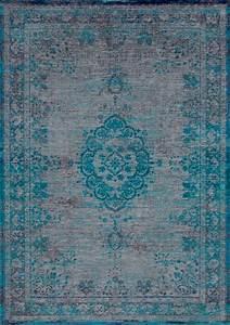 Louis De Poortere : louis de poortere fading world 8255 grey turquoise blauw grijs ~ Frokenaadalensverden.com Haus und Dekorationen