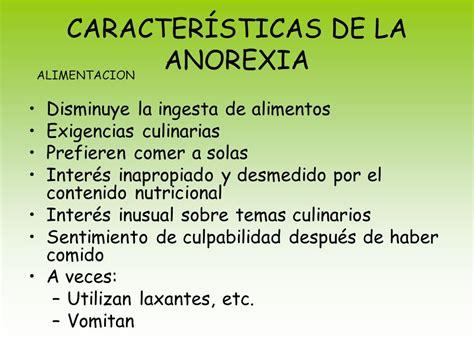 anorexia en la adolescencia causas consecuencias  mas