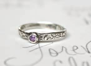 simple wedding rings for sapphire engagement ring simple engagement ring purple