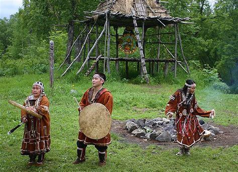 Itelmeni - Krievijas indiāņi - Spoki