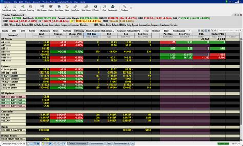 TWS Real-time Activity Monitoring   Interactive Brokers