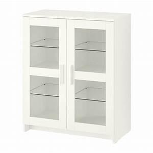 Ikea Tagesbett Brimnes : brimnes cabinet with doors glass white ikea ~ Watch28wear.com Haus und Dekorationen