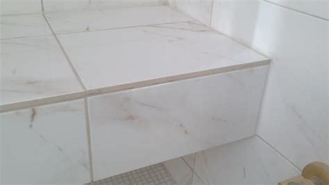 schluter tile trim white can trim be added after grout ceramic tile advice