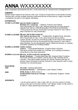 9 Textile And Apparel Cv Examples & Templates  Livecareer. Most Popular Resume Format. What Should I Write In Objective Of My Resume. Content Writer Resume. Sales Associate Resume Summary. Account Payable Resume Sample. Sample Resume Carpenter. What Are Some Good Skills For A Resume. Ob Gyn Medical Assistant Resume