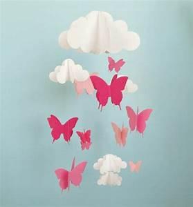 Schmetterlinge Aus Tonpapier Basteln : mobiles basteln macht spa 30 tolle ideen ~ Orissabook.com Haus und Dekorationen