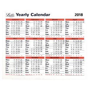letts yearly calendar tyc ltyc