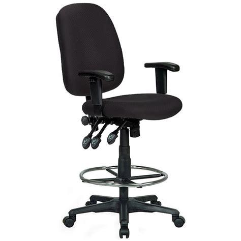 ergonomic drafting chair black