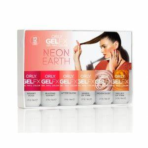 Professional Gel Nails System Infused With Vitamins Gel FX