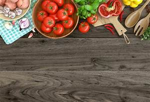 Laeacco Old Wooden Board Vegetables Seasoning Food Photography Background Customized ...