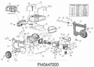 Powermate Formerly Coleman Pm0647000 Parts Diagram For