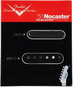 Fender 51 Nocaster Pickup Set  Jimi U0026 39 S Music Store