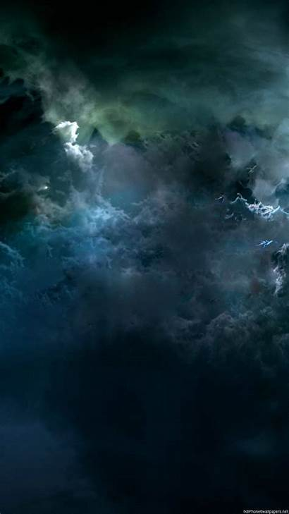 Storm Clouds Dark Iphone Sky Wallpapers Backgrounds