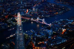 background photography the shard and tower bridge london aerial aerial