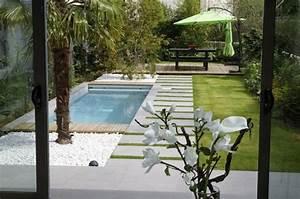 Pool Für Kleinen Garten : pool f r kleinen garten modern und minimalistisch gestalten garten hausbau pinterest ~ Whattoseeinmadrid.com Haus und Dekorationen