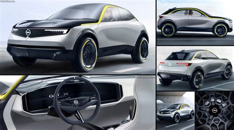 opel gt  experimental concept  pictures