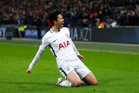 tottenhams brilliant  son heung min song  bournemouth