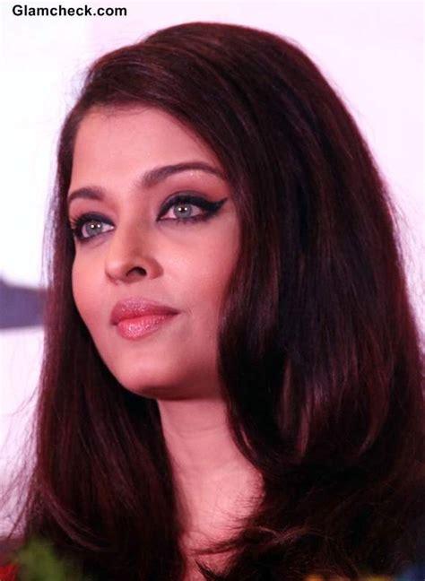 makeup diy aishwarya rai winged eye makeup