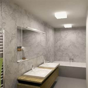 Betonová stěrka koupelna