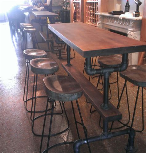 bar height kitchen table industrial farmhouse bar height kitchen table the