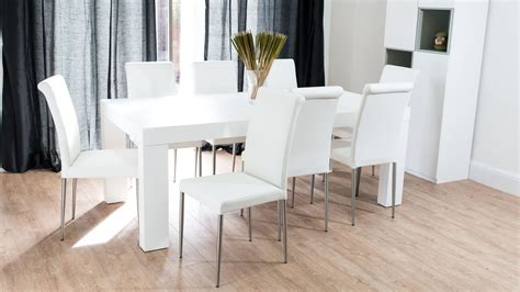 white wood dining awesome white dining room set for inspirations home design