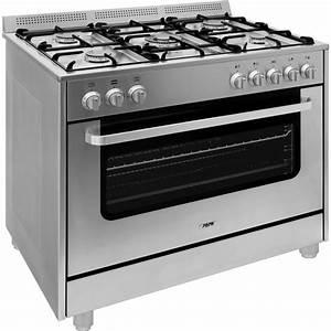 Cuisiniere Gaz 5 Feux : cuisini re gaz 5 feux mont sur four l ctrique ~ Edinachiropracticcenter.com Idées de Décoration