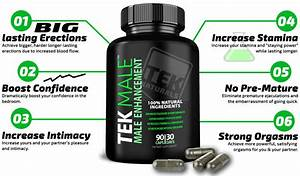 Tekmale U2122 All Natural  1 Rated Male Enhancement Pills  Horny Goat Weed