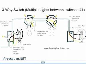 Wiring Diagram For 3 Light Switches