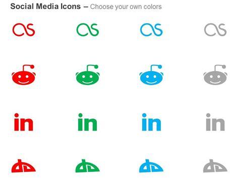 fm reddit linkedin deviantart  icons graphics
