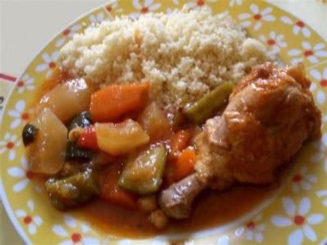recette du couscous au poulet un plat complet et léger