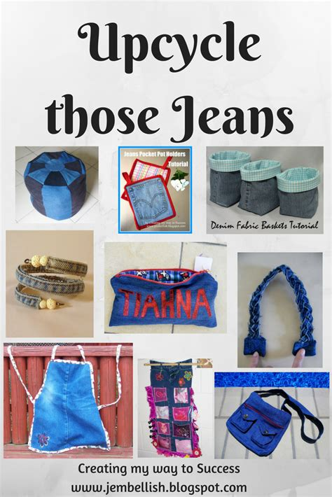 creating    success upcycling jeans