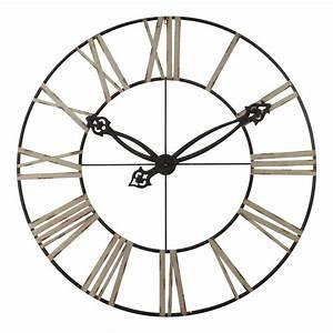 Maison Du Monde Horloge Murale : lincoln horloge murale maisons du monde decofinder ~ Teatrodelosmanantiales.com Idées de Décoration