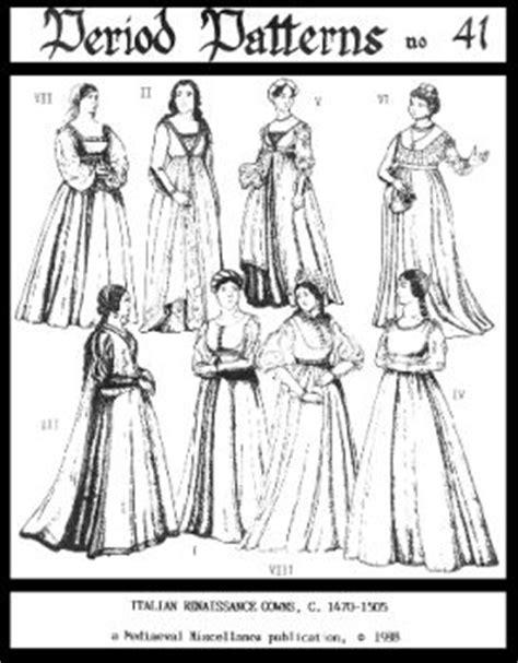 patterns  time   womens italian renaissance
