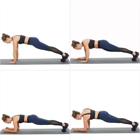 Circuit 3: Up-Down Plank | Bodyweight Workout For Arms and ...