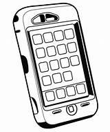 Coloring Iphone Phone Handy Ausmalen Cell Zum Take Messages Wehoville Kostenlose Malvorlagen Ausmalbilder Kindern Clipartmag Starklx Gemerkt Kinder sketch template